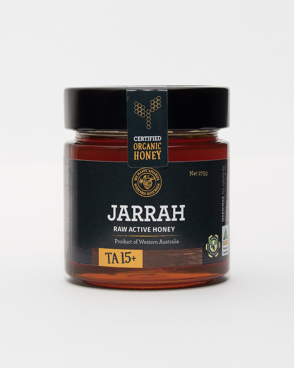 BeeHappy_Honey_Jarrah_275g_LR